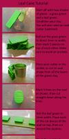 Leaf Cane Tutorial by Pandannabelle