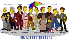The Eleven Doctors by Ulla-Andy