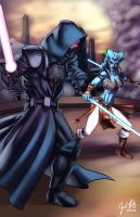 Sith versus Jedi. by JosFouts