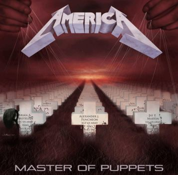 Master Of Puppets By Jonbland by JonBland