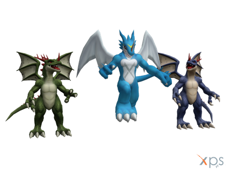 Digimon Pack EX1 - Dragons by RPGxplay