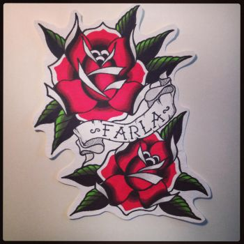 Rose.  by Farlatattoo