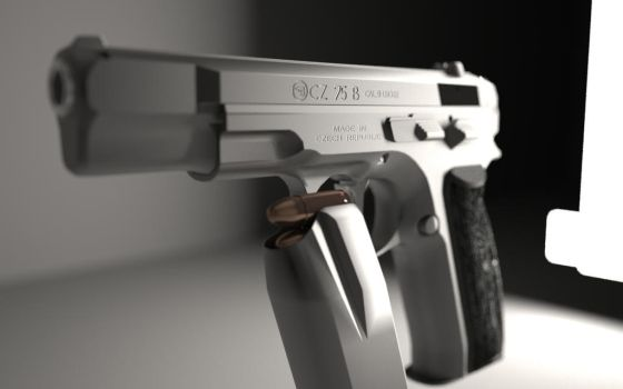 CZ 75 b test render by Deadity