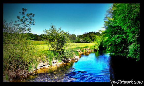 Paradise River by VP-photography