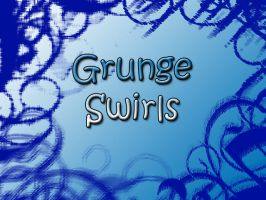 Grunge Swirl Brushes by Lou012