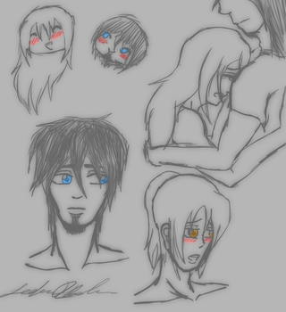 RP doodles from 9-9-11 by demonchick25