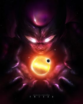 Galactic Overlord Frieza by JohanBriend