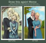 Draco and Luna by MeryChess