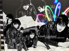 Adam Lambert Background by Ashley-Deviantart