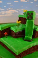Creeper Cake by queen382