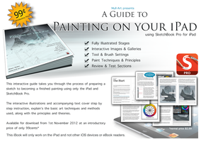 A Guide to Painting on your iPad iBook by Mull-Art