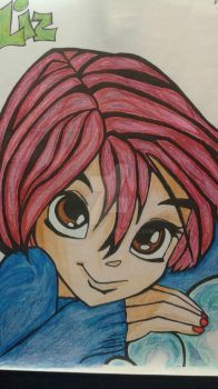Will Vandom From W.i t.c.h. (Colored) by JennyPeace