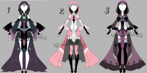 outfit adoptable bacth CLOSED by AS-Adoptables