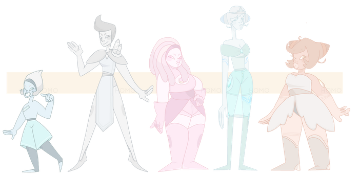pastel gemmies CLOSED by HomoAdopts