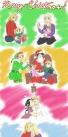 FMA - Elric's Christmas by MarvelPoison