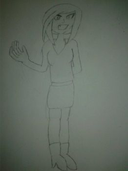 Marie THARON, nouveau personnage de RP by Nicky22552