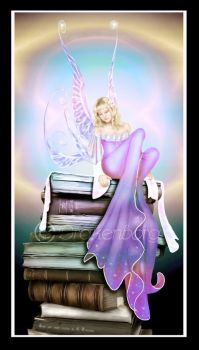 The Book Fairy by Drakenborg