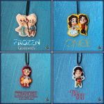 Clay necklace collection #3 by r0ra