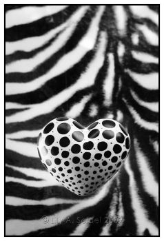 Wild At HEART - BW by Viliggoly