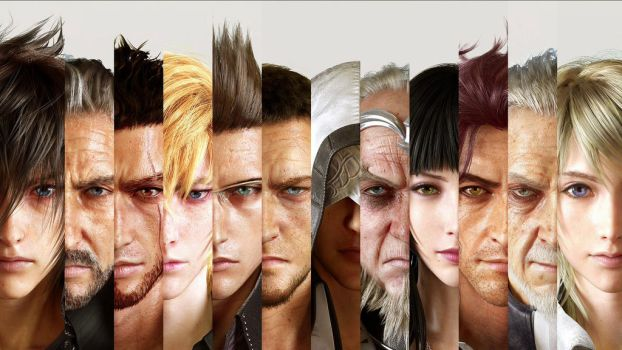 Final Fantasy XV by vgwallpapers