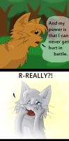 Warrior Cats- She's Crazy Dude (REAL) by whatchyagonnado