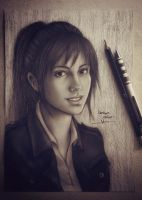 sasha braus / attack on titans  by Hzaherart