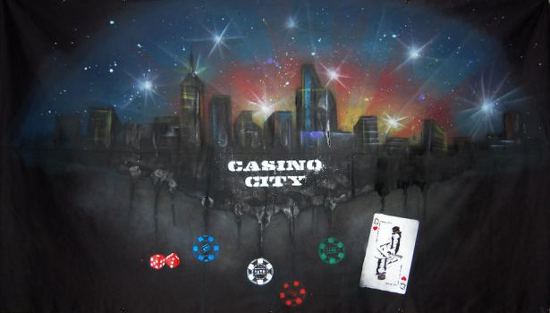 Casino City banner by Heger by HEGERART