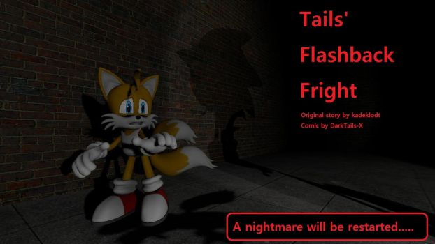 Tails' Flashback Fright (GMod Comic poster) by DarkTails-X
