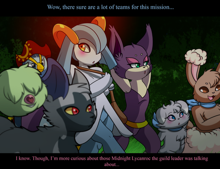 PMD-F: Team Desire Mission 5-1 by YoshiMister