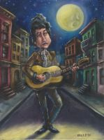 Bob Dylan by Retro-Sorrento