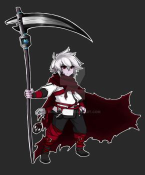 Elsword OC - Grim, the Last Reaper by Anax78
