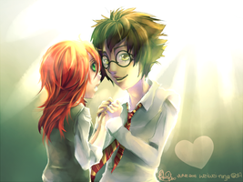 James and Lily by forgottenpantaloons