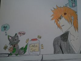 FoxAcedia and Ichigo by Acedia-Homunculus