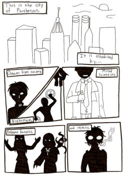 Silent Interference Comic by QueenSquirrel