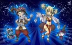 Fairy Tail ~Happy, Natsu, Lucy, Plue by iPhenixia