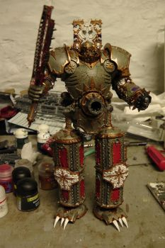 Khorne Lord of Skullz front Finished by sniperray213