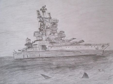 USS Indianapolis by Remyfox819