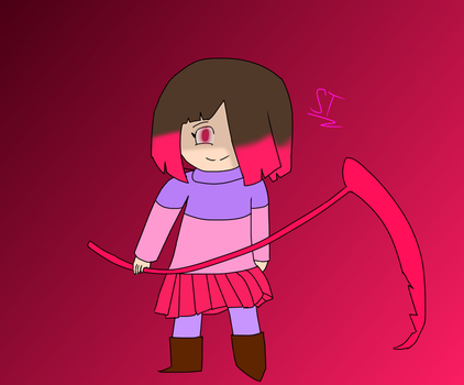 First Glitchtale Betty drawing attempt. by AfterfellChara