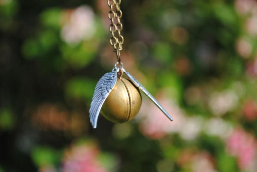 The Golden Snitch by ClassicRose