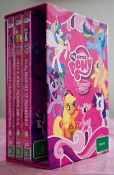 MLP DVDs by Barnacle84