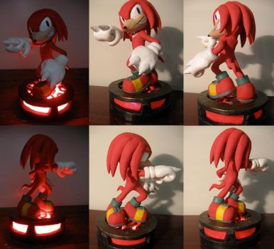LED: Knuckles by Archaedin