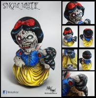 Snow White (white snow skin, red blod lips) by MIKEANGEL1
