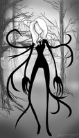 Slender WoMan by Grim-Tales