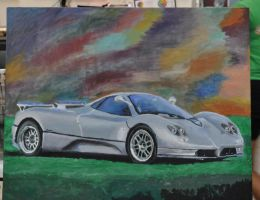 Pagani Zonda: Completed by parnzz2476