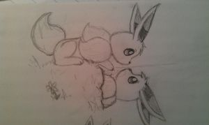 Who are you?: Eevee by EchoSongs