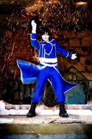 Roy Mustang - Rain of Fire by Hikari-Kanda