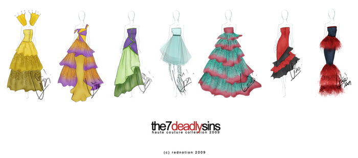 7 Deadly Sins Complete C. by rednotion