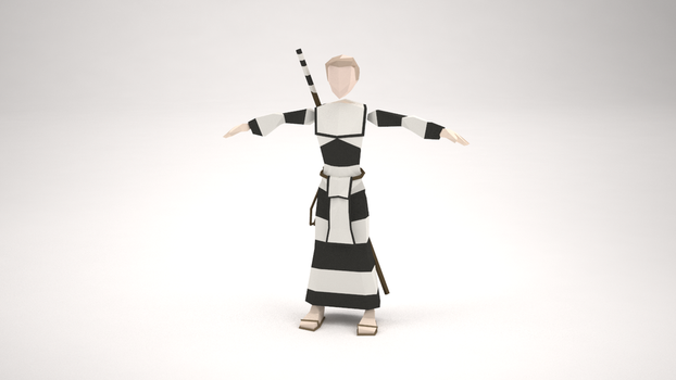 Low Poly Character - Babbage McHolyman (WIP) by MacLellan
