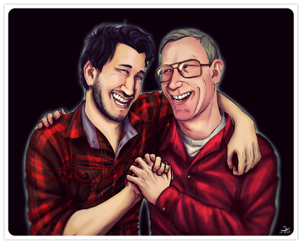 Father and Son by SimplEagle