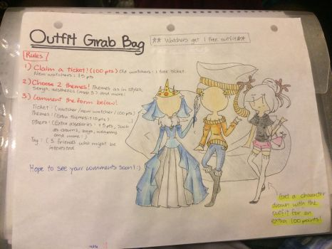 Outfit Grab Bag (OPEN UNTIL June 24) by xDoki-Dokix